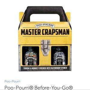 Poo-pourri Master Crapsman set of two